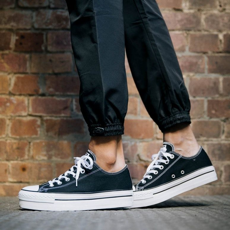 162d157a85e3 Converse Chuck Taylor All Star Platform Black in 2019