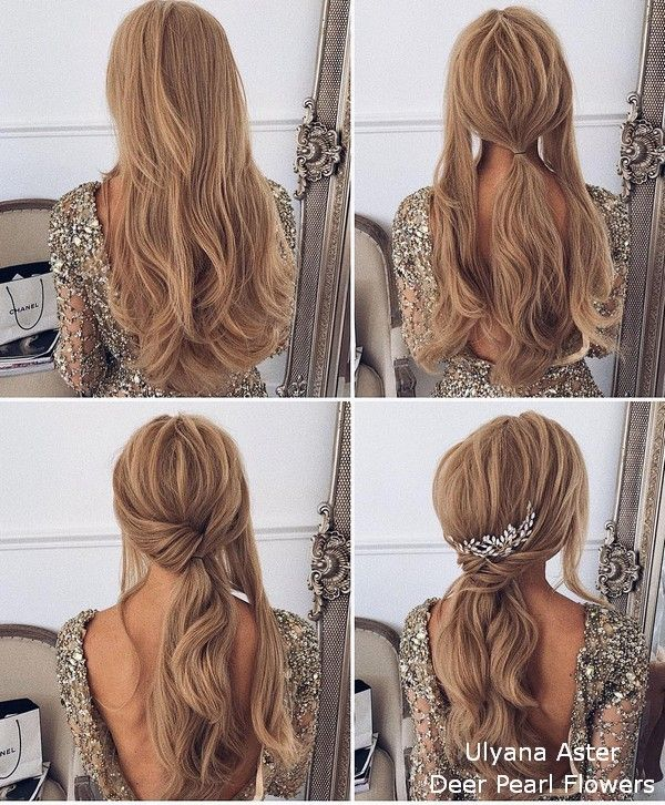 18 Wedding Hairstyles Tutorials for Brides and Bridesmaids -   15 makeup Dia wedding hairstyles ideas