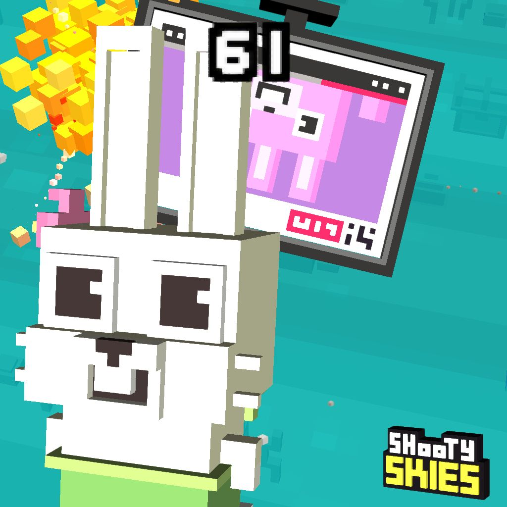 61 in #shootyskies. Mijn topscore was 290. shootyskies.com