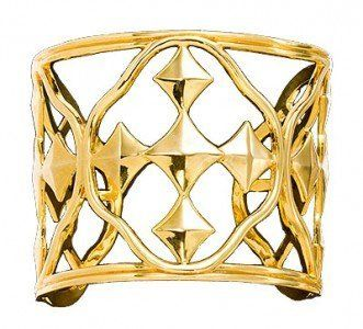 """Gracewear Collections """"Shield of Faith"""" 18k Plated Gold Cuff Bracelet Gracewear Collections. $88.00. 3 inches wide. 18k Gold plated silver. Designed by Wendy Strong Lupas and Mary Strong Blackburn. Cuff bracelet"""