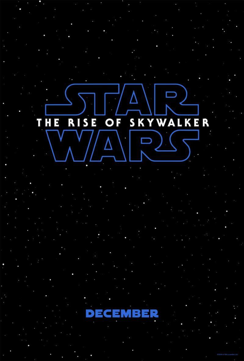 Star Wars: The Rise of Skywalker Poster Revealed ...