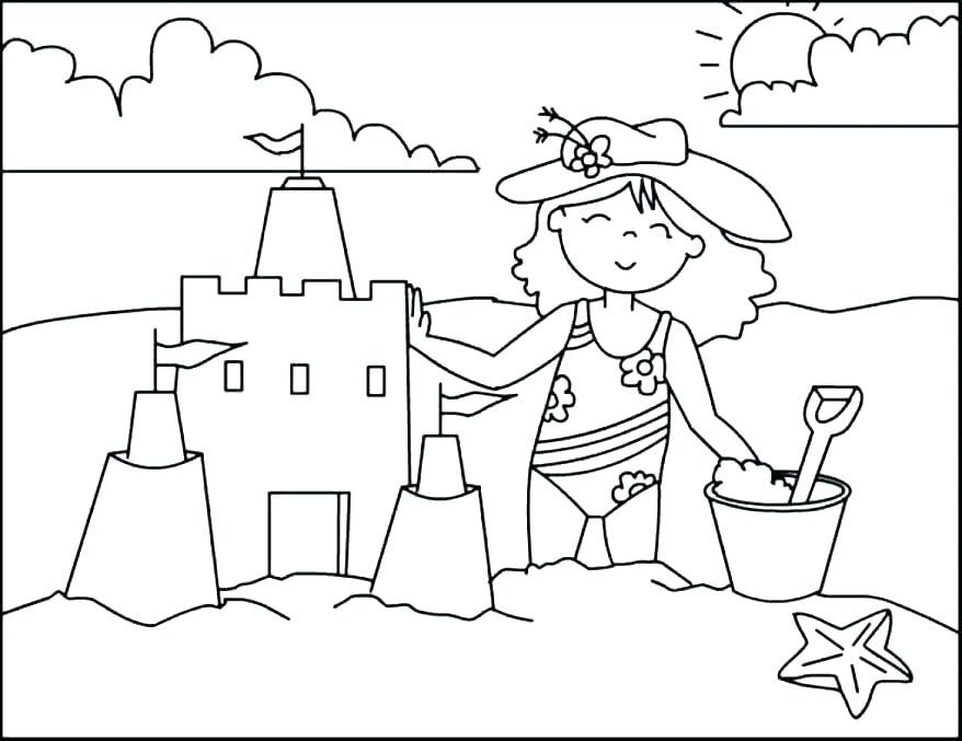 Beach Coloring Pages Summer Coloring Pages Cool Coloring Pages