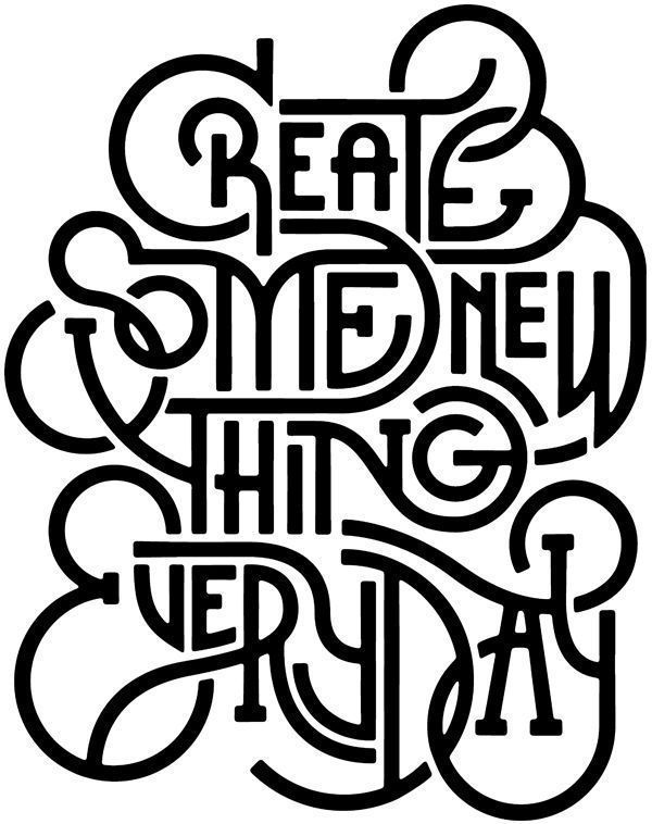 Whether it is a conversation, a meal, a doodle....just create, every day.