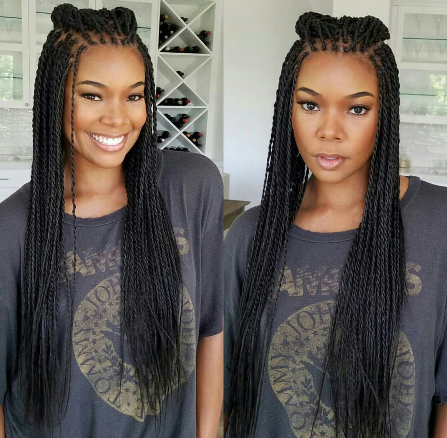 Pin by ceola harmon on twists pinterest african braids