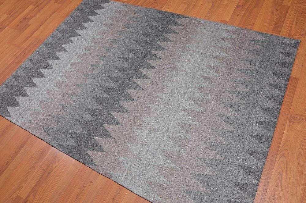 Handmade Geometric Graphic 100 Wool