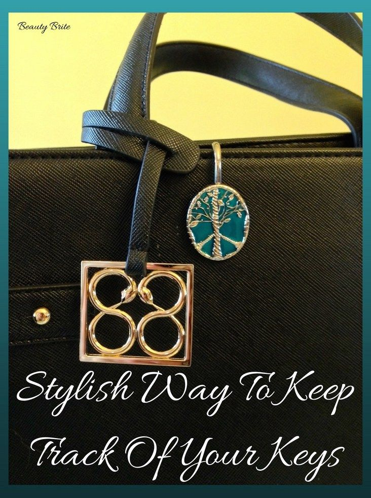 Stylish Way To Keep Track Of Your Keys Finders Key Purse