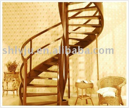 Best Curved Wood Deck Steps Spiral Staircases – The Gamia 400 x 300