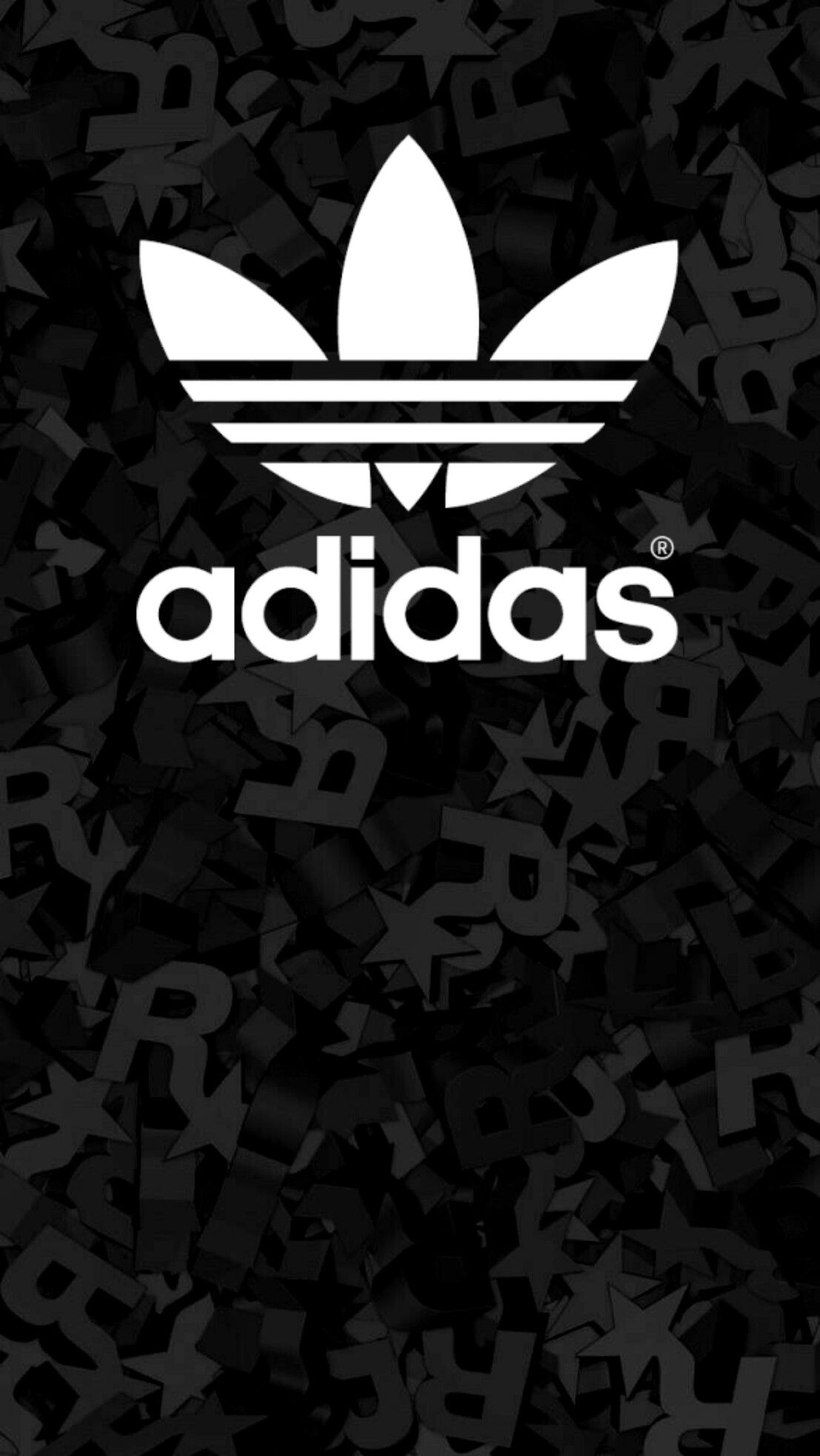 adidas black wallpaper android iphone Nuit saint