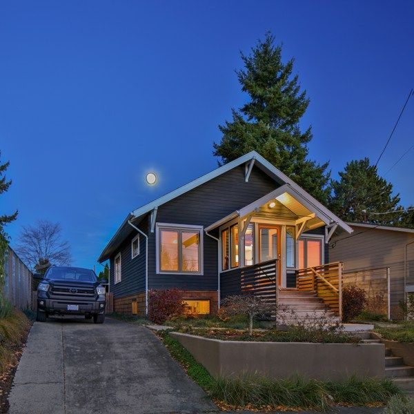 the zerbey remodel is located in the ballard neighborhood of seattle