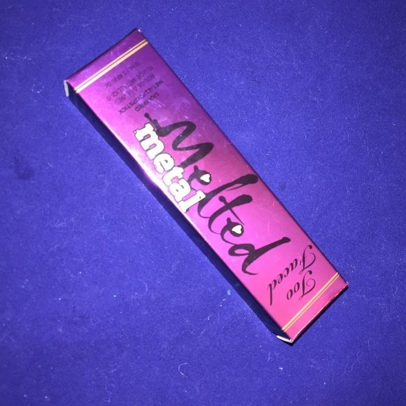 Dream House Meltic Metallic Brand new lipstick Metallic  Dream house too faced 100% authentic price firm No trades please only for sale thank you Too Faced Makeup Lipstick