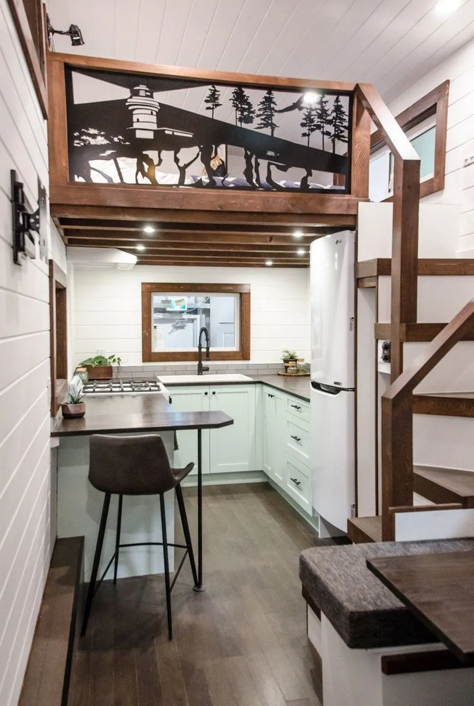 Foot Dandelion Tiny House Built By Incredible Tiny Homes 31