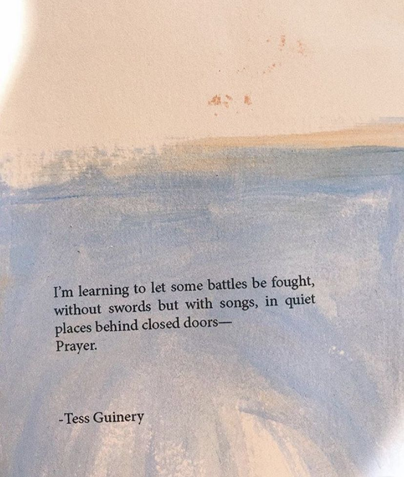 Prose by @tessguinery