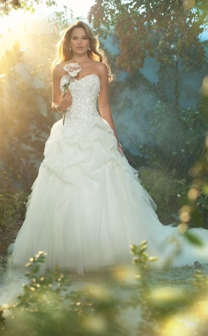 Disney Wedding Inspiration The 2017 Alfred Angelo Fairy Tale Gowns Sleeping Beauty