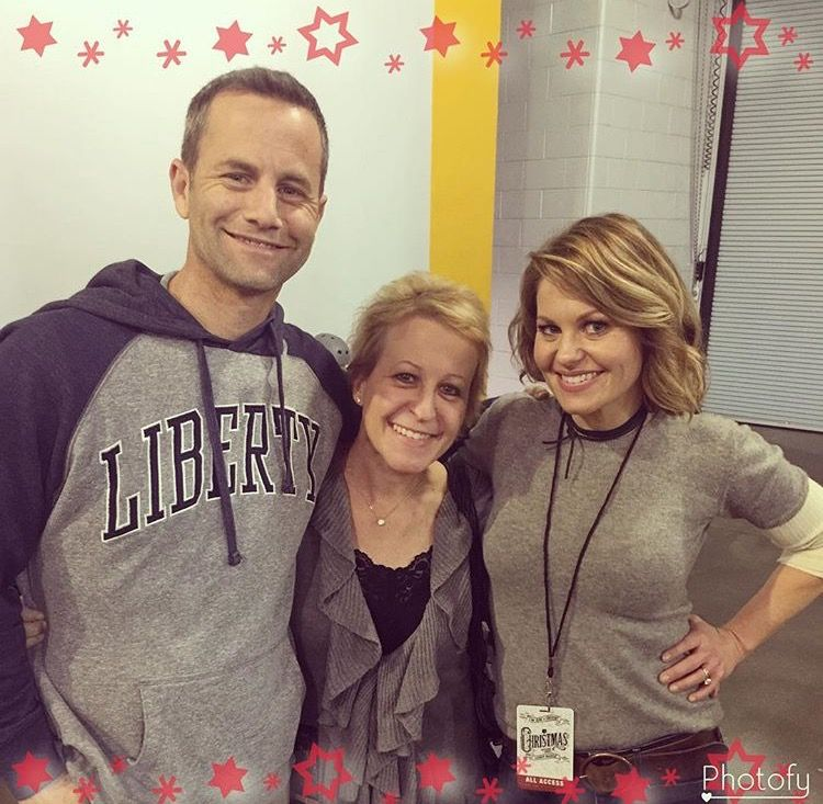 Kirk Cameron, and sisters Bridgette and Candace. From Bridgette\'s ...