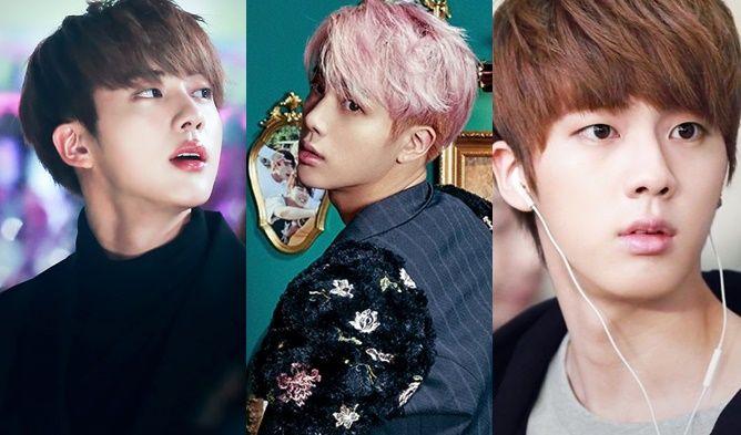 Kpop Idols Kpop Visual Members Kpop Nicknames Bts Jin Bts Visual Member Cute Nicknames Kpop Kpop Idol