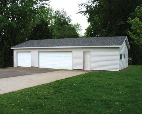 24 X 48 X 8 3 Car Garage With Storage Garages