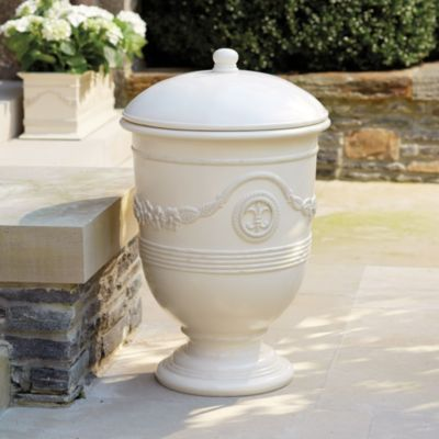 doesn\'t everybody need a $250 outdoor garbage can? trash never had ...