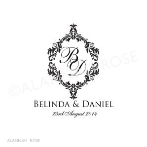 Alannah Rose   Wedding Invitations + Stationery   shop online - Elegance Wedding Logo