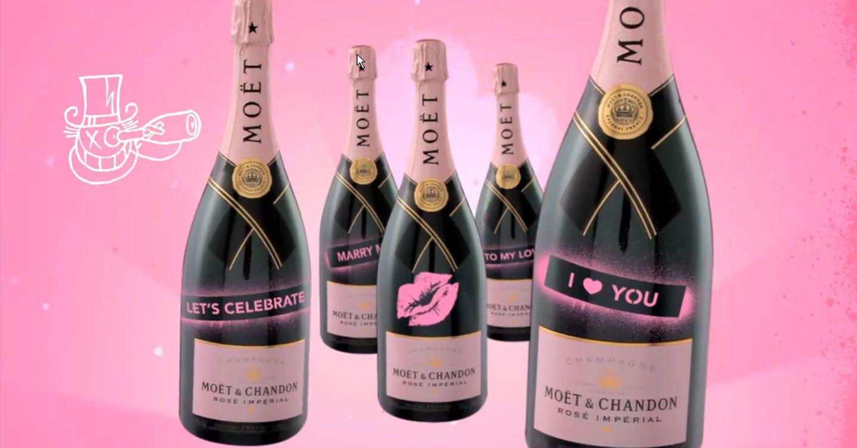 Rose Bubbles Moet Chandon Champagne Moet Chandon Champagne