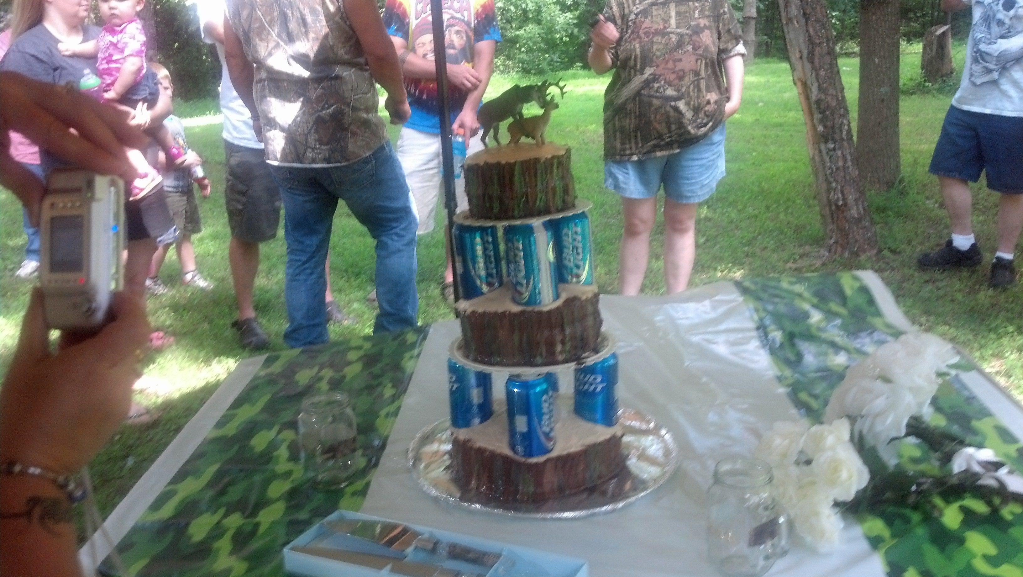 Our Redneck Wedding Cake