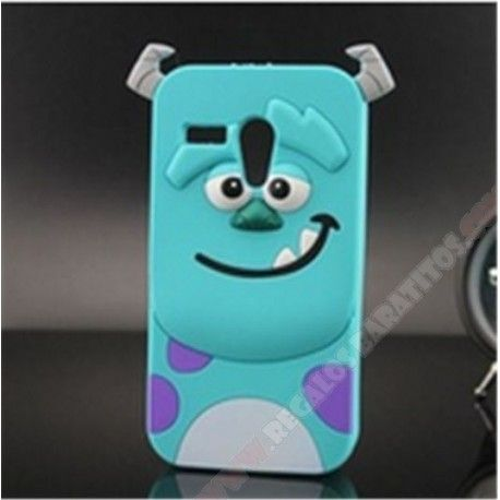5558ab72d41 Carcasa divertida diseño muñeco monstruo azul para Motorola Moto G ...