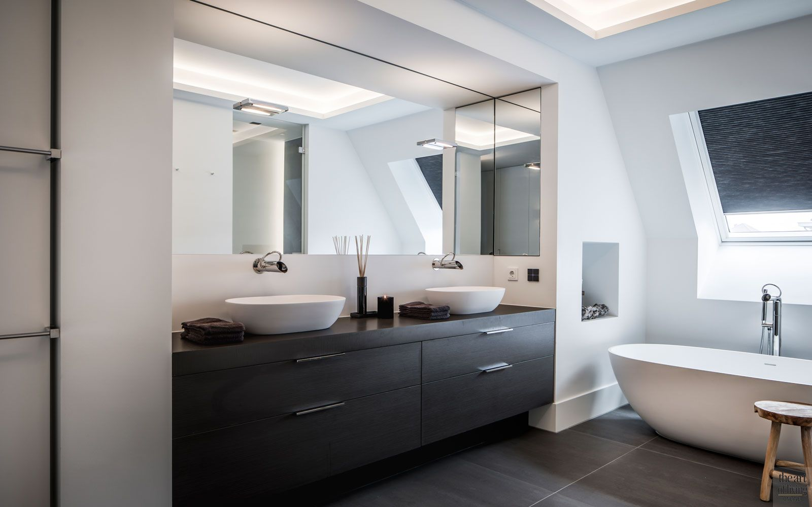 Landelijke nieuwbouw badkamer pinterest bathroom modern en