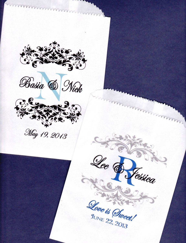 Wedding, Candy Buffet Bag, Wedding Favor Candy Bag, Treat Bags ...