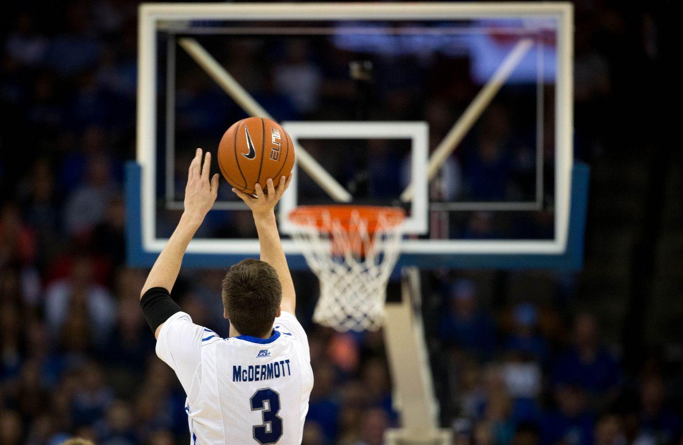 Creighton's Doug McDermott (3) take a threepoint shot
