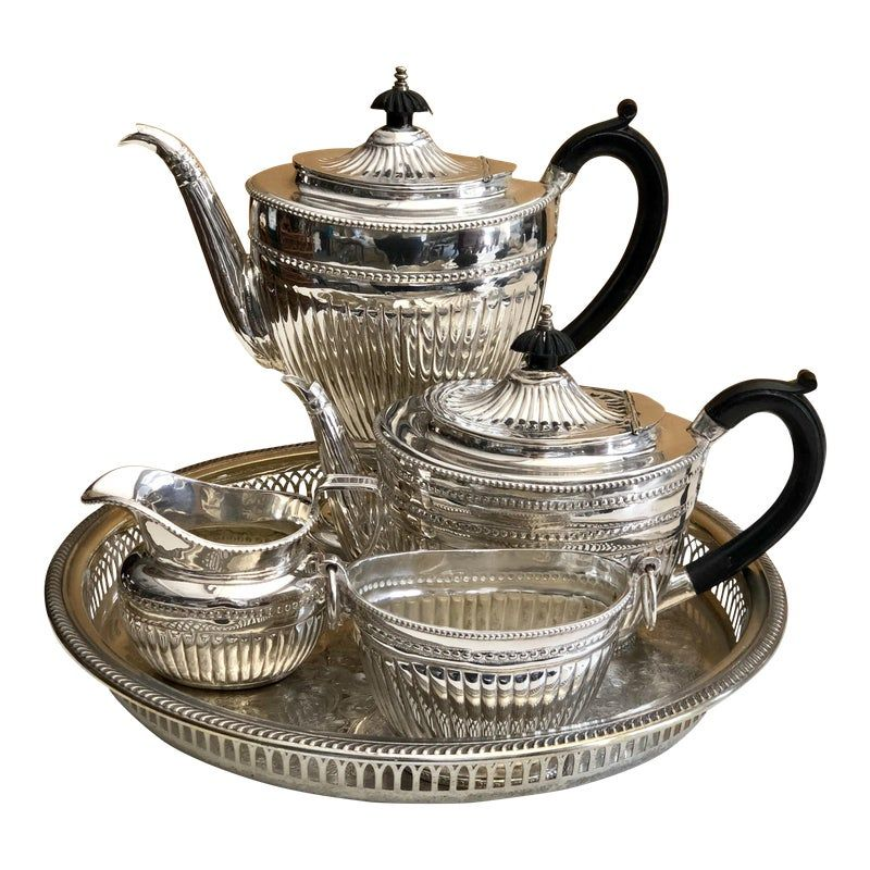 5 Piece Porcelain Tea Set Lady Ann by Gorham NEW BOX