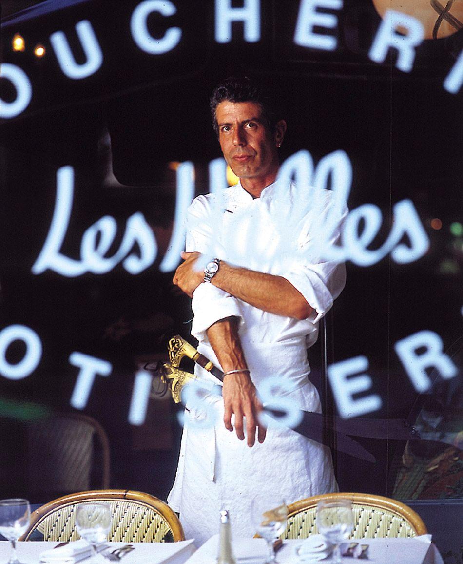 Bourdain at Brasserie des Halles