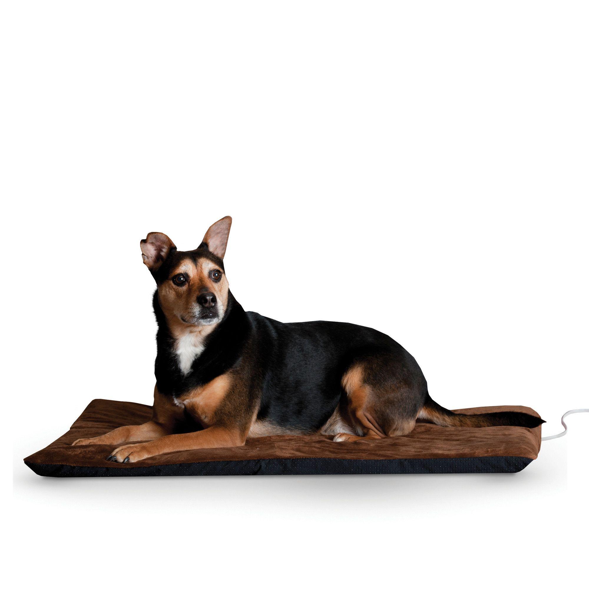 "Ortho Heated Dog Pad with ""Stay Put"" Bottom Heated pet"