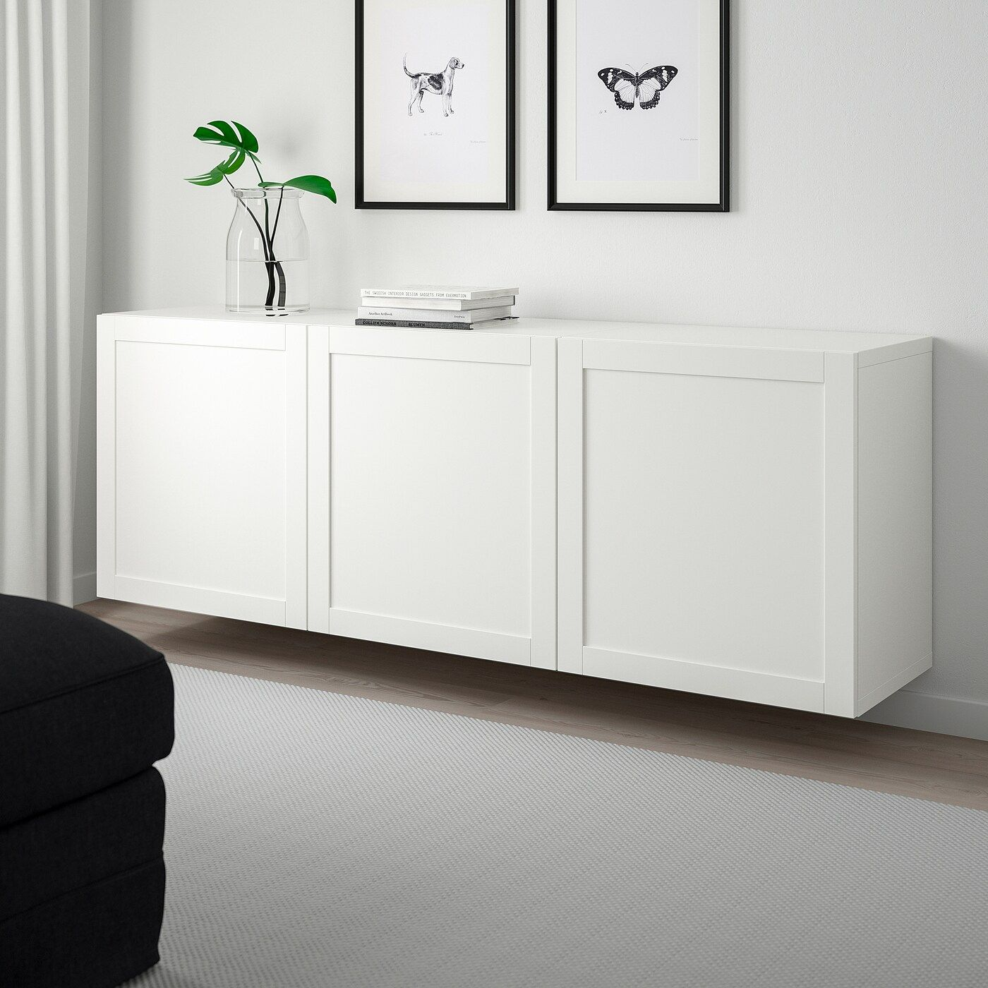 Wall Mounted Cabinet Ikea Floating, Ikea Living Room Storage Cabinets Sideboards