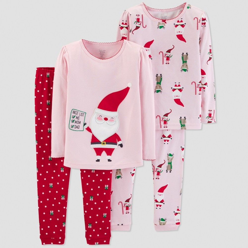 ecd1a09bc98e Put your little one to bed in this cozy 4pc Cotton Pajama Set from ...