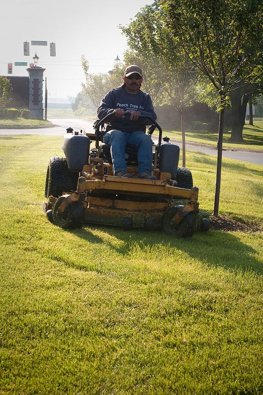 Greenpal Lawn Care Specialists Are Poised To Finish The Job Masterfully Landscaping Lawncare Greenpal Lawn Care Lawn Outdoor Power Equipment