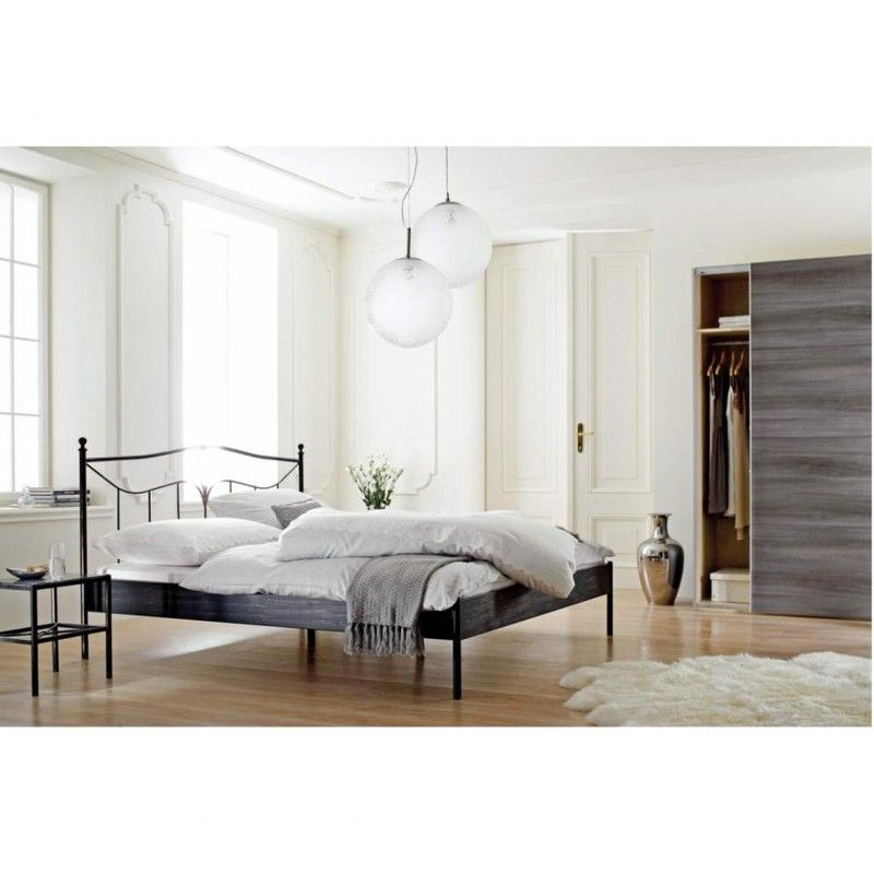 venezia metallbett schwarz 180x200 leiner home pinterest bett schlafzimmer und metall. Black Bedroom Furniture Sets. Home Design Ideas