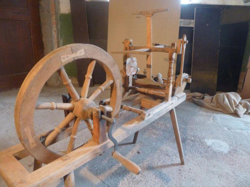 Altes Spinnrad aus Museumsauflösung in Baden-Württemberg - Mainhardt | Kunst und Antiquitäten gebraucht kaufen | eBay Kleinanzeigen
