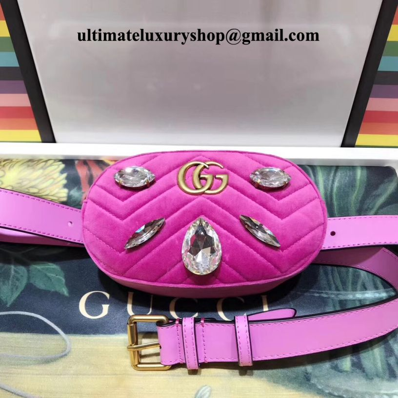 9d28d6615ac4 Authentic Quality Perfect 1:1 Mirror Replica Gucci GG Marmont Pink ...