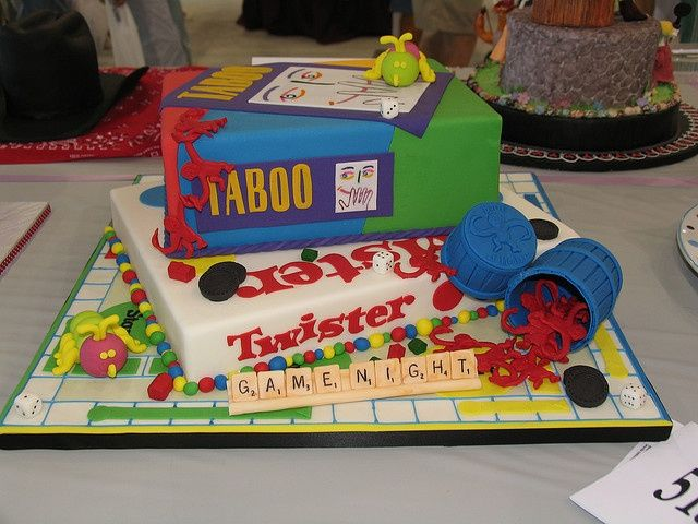 Game Night Cakes Game Night Cake Cakes With Images Game