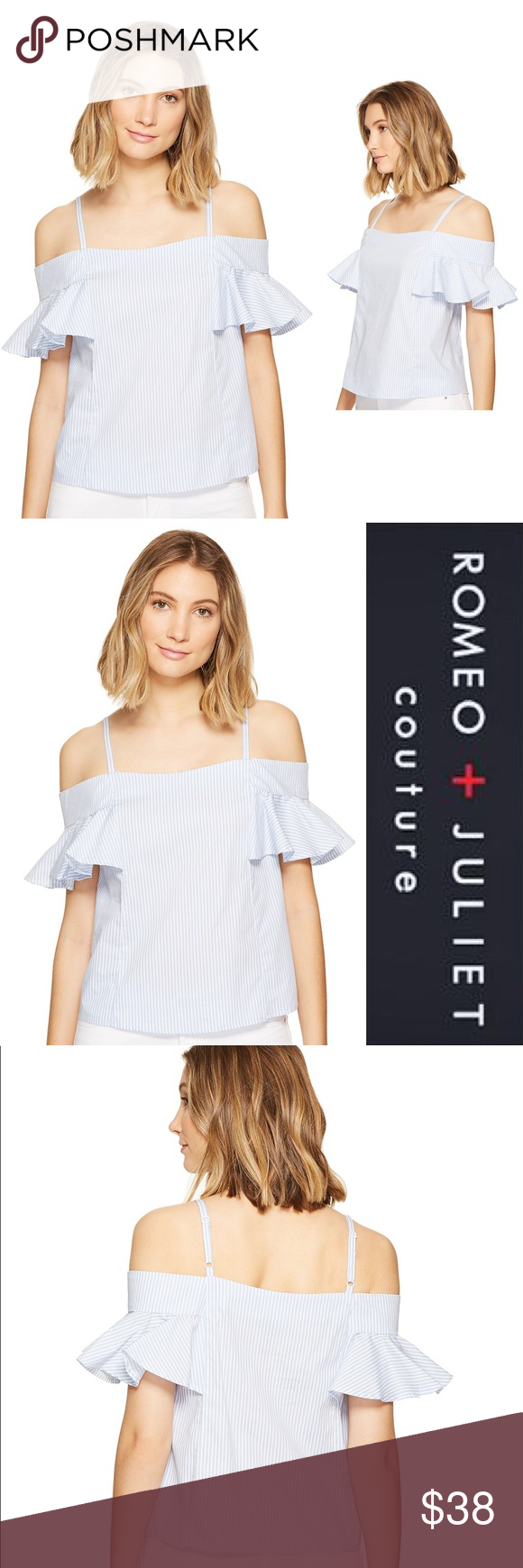 e3ae9a86f856 SALE💜Romeo & Juliet Couture Cold Shoulde Top Brand new with tags. Super