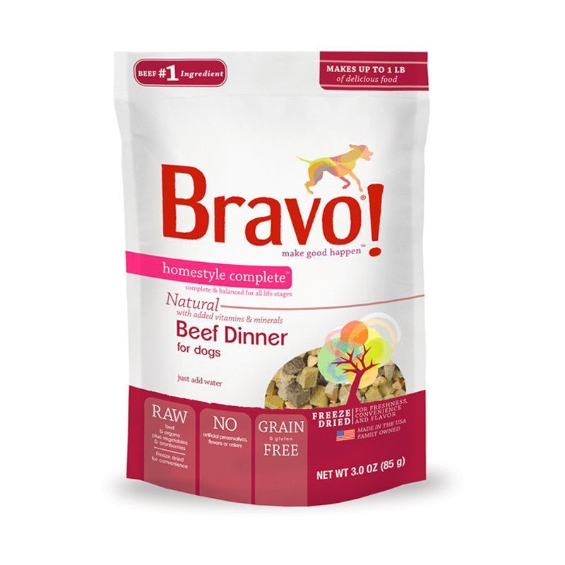 Bravo Freeze Dried Beef Beeffoodrecipes Dog Food Recipes