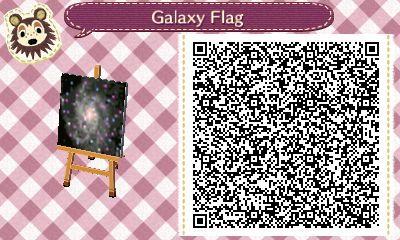 Acnl Qr Galaxy Tumblr Acnl Path Accent Tilesdesigns