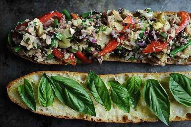 Pan Bagnat (French Tuna Salad Sandwich)