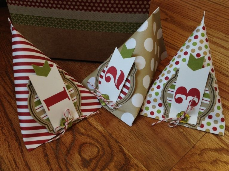 Easy Advent countdown featuring sour cream containers