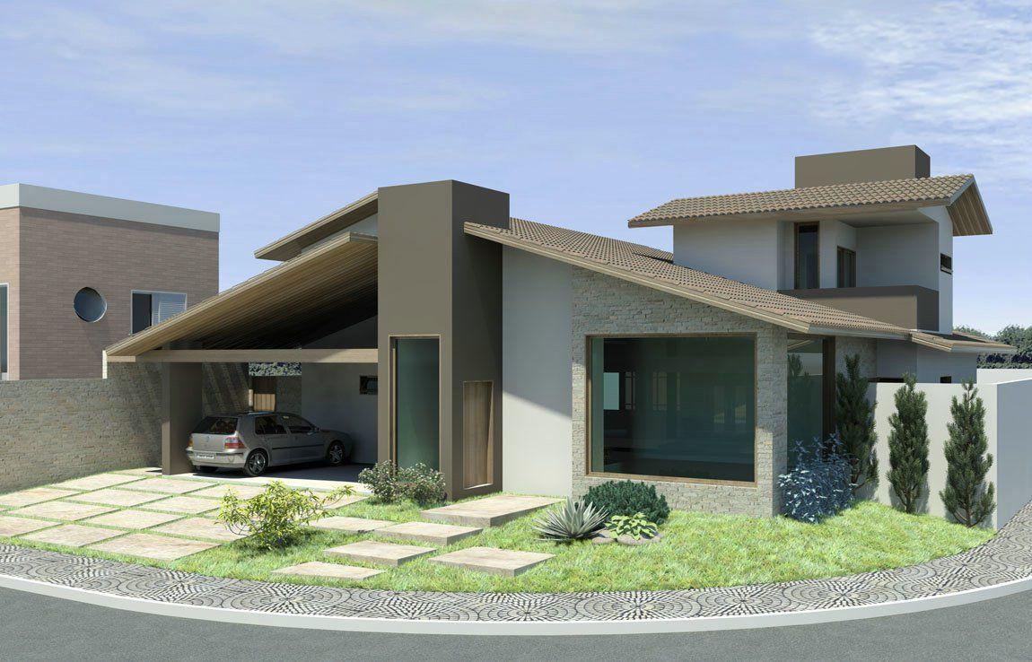 Modelos de casas pequenas 27 e fachadas home for Modelos de fachadas de casas