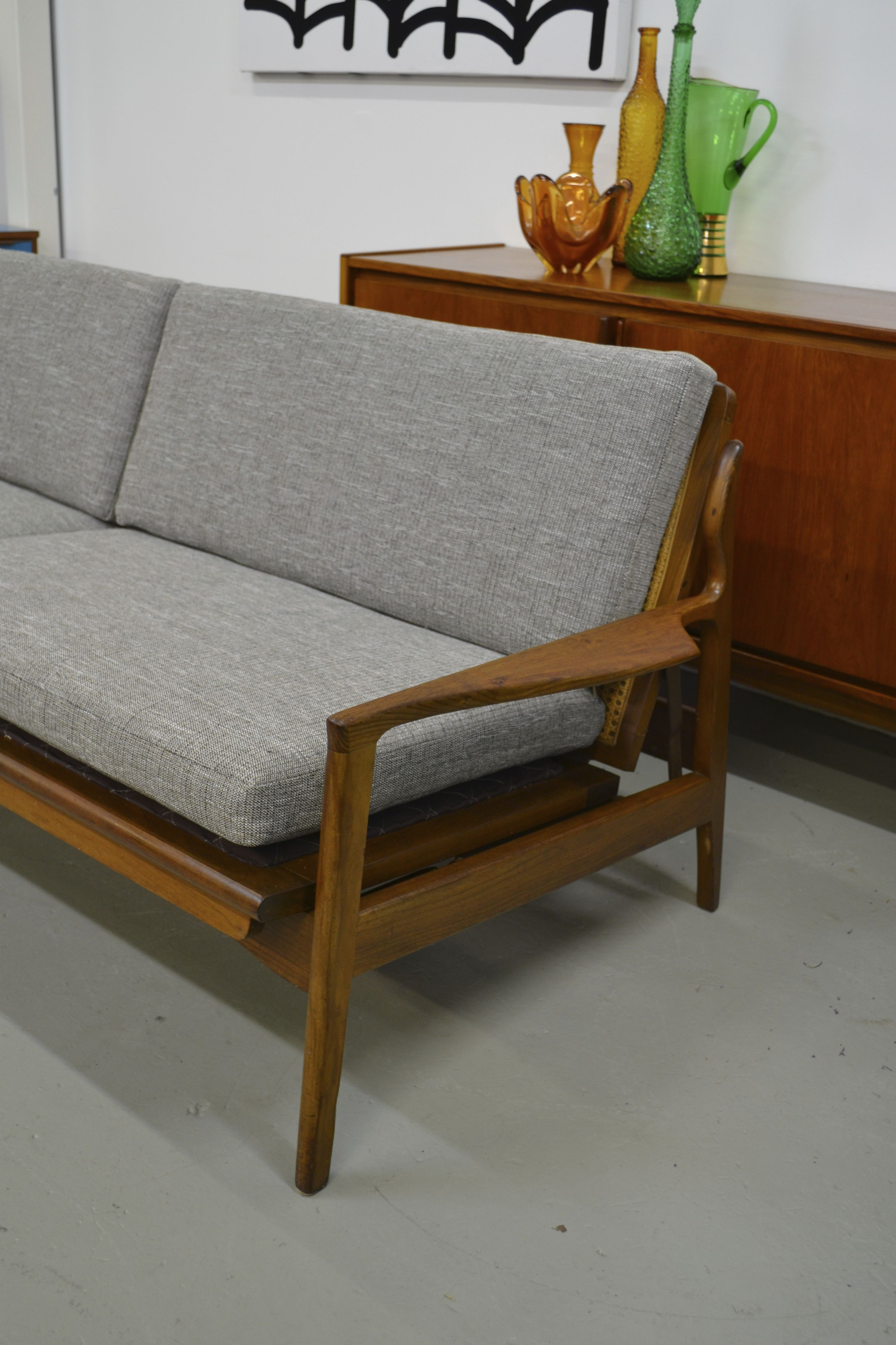 60s Furniture Styles Fred Lowen Designed Fler Lounge Sofa Bed T And T Sells