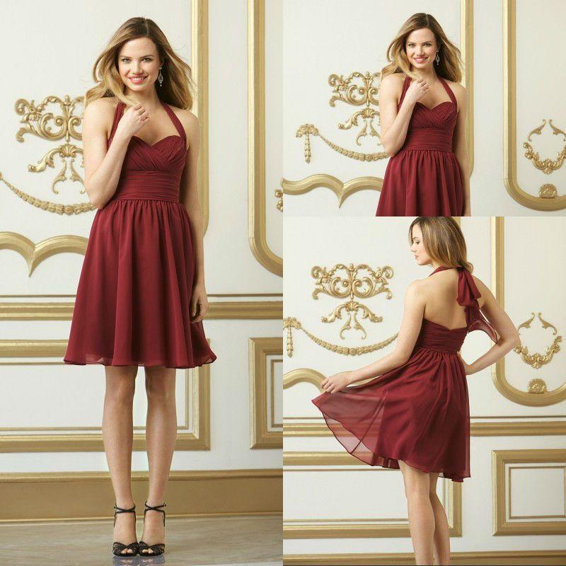 #bridesmaid dress , #short bridesmaid dress, #chiffon bridesmaid dress