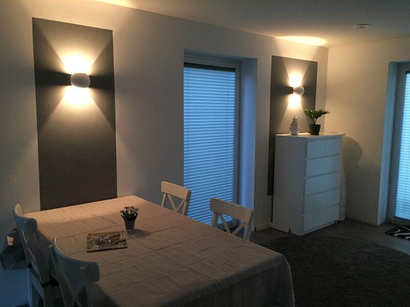 Dimmbare LED Wandlampen - Unsere Wandleuchten fürs Wohnzimmer Walls