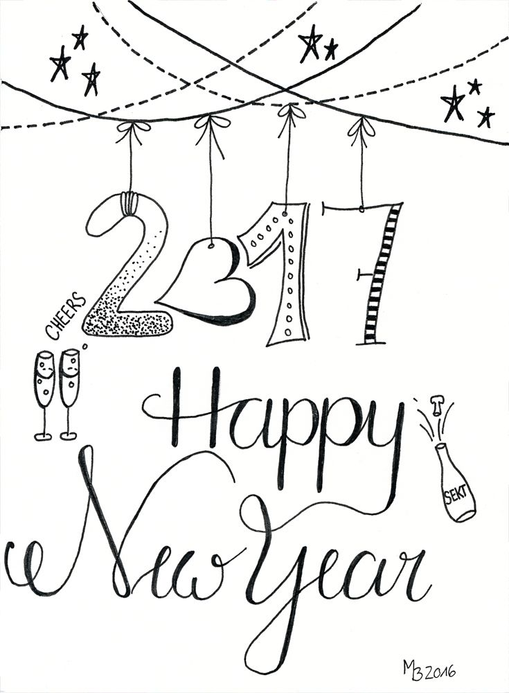 Happy New Year Doodle 37