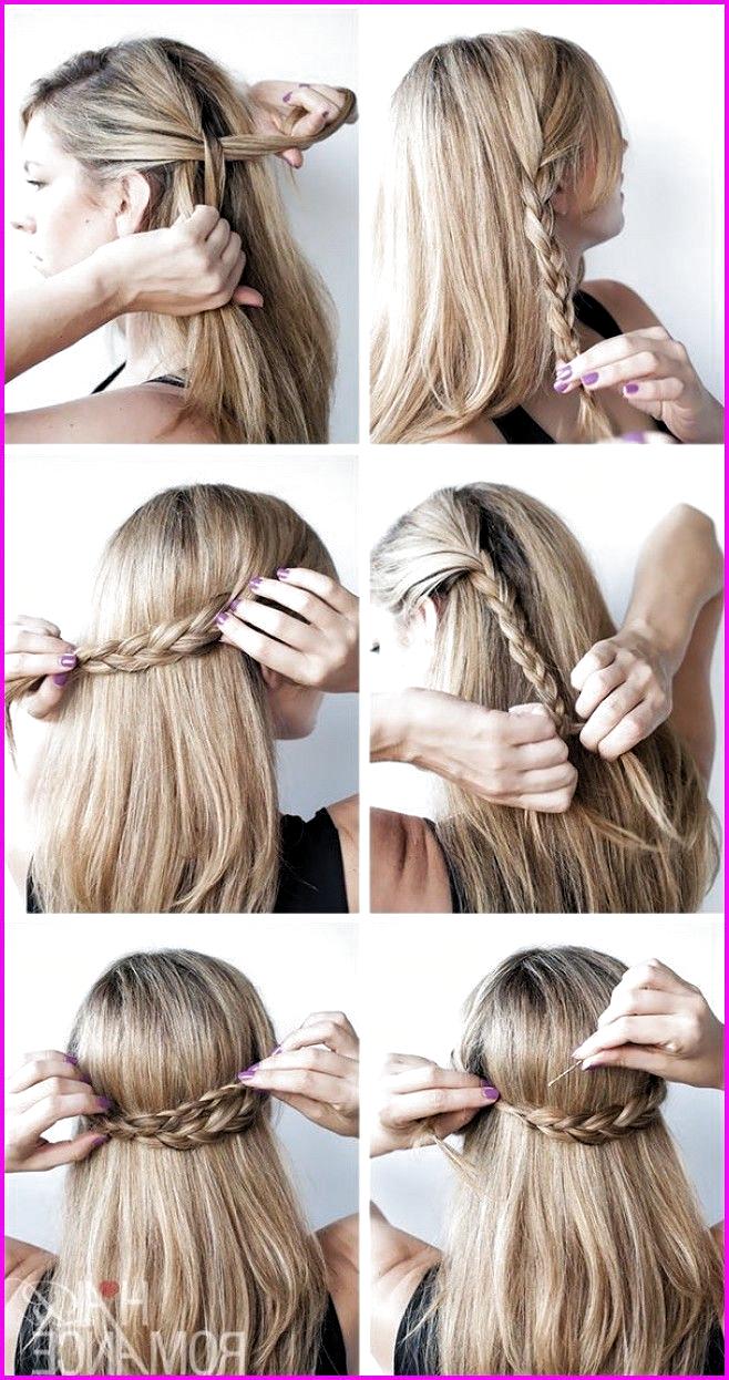 8 einfache und süße Frisuren für mittellanges Haar, #einfache