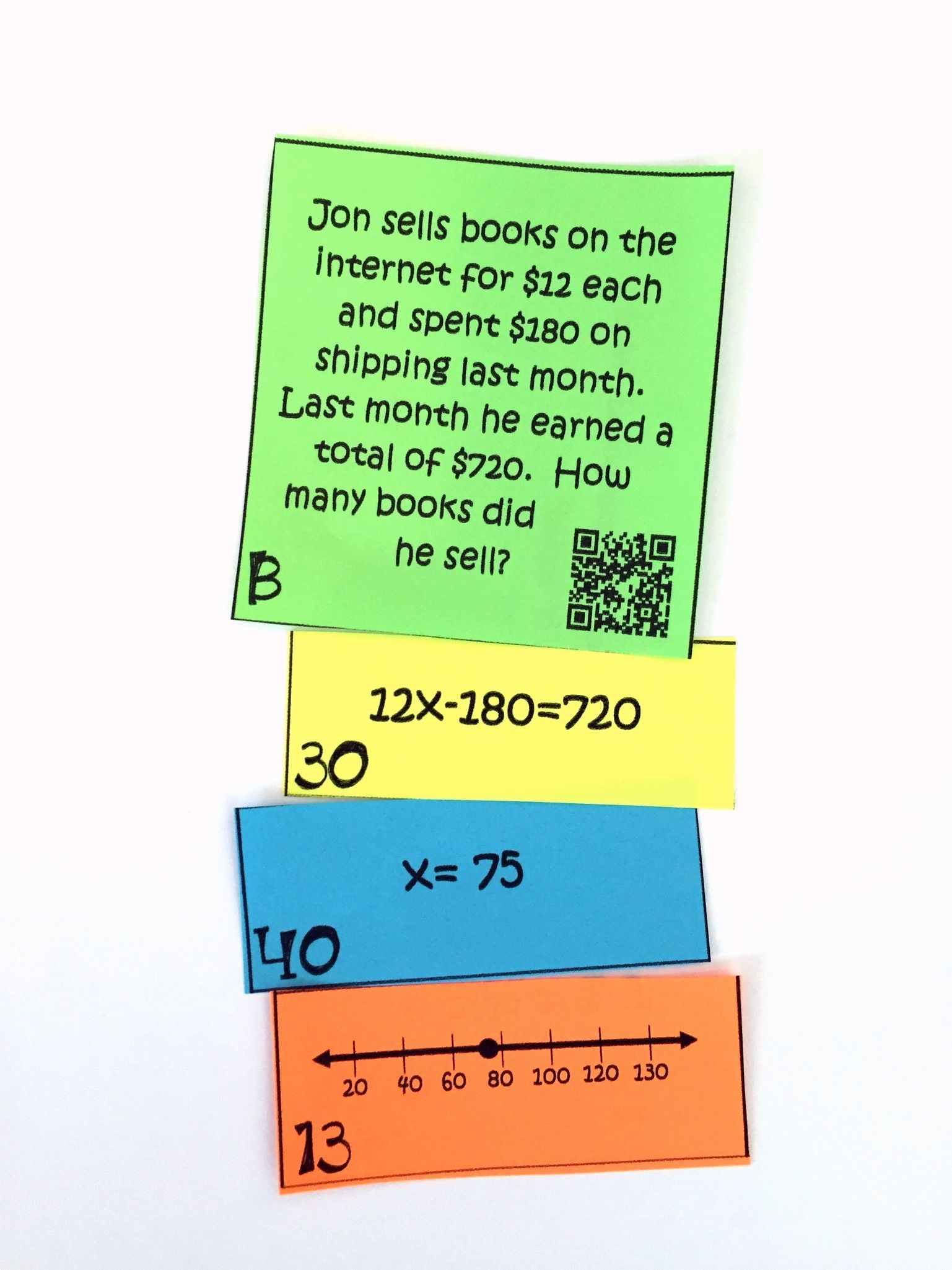 My 7th Grade 8th Grade Math Students Loved This Two Step Equations Activity This Was Such A F Solving Equations Activity Equations 7th Grade Math Worksheets [ 2049 x 1537 Pixel ]